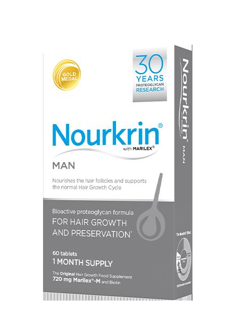 Nourkrin Man box image 60 tablets